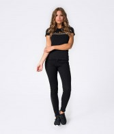 RETRO JEANS ARIANA T-SHIRT BLACK