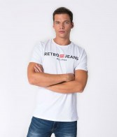 RETRO JEANS ENOS T-SHIRT,WHITE