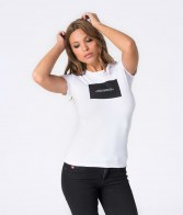 RETRO JEANS SHELA 20 T-SHIRT,WHITE
