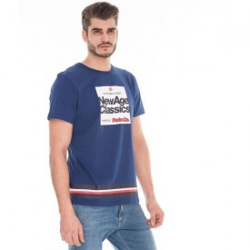 RETRO JEANS MIRON T-SHIRT,DENIM BLUE