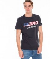 RETRO JEANS UNITED T-SHIRT,ANTHRACITE