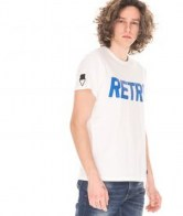 RETRO JEANS SERGIO T-SHIRT,WHITE