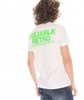 RETRO JEANS GLEB T-SHIRT,WHITE