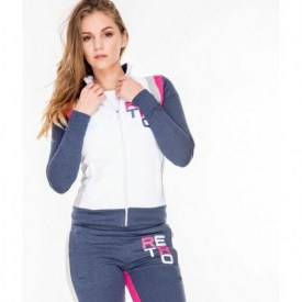 RETRO JEANS ASTON JOGGING TOP,WBM