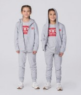 RETRO JEANS KID ZIPUP GREY MELANGE