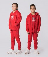 RETRO JEANS KID ZIPUP RED