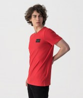 RETRO JEANS SUPERSONIC T-SHIRT ,RED