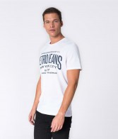 RETRO JEANS MARCELO T-SHIRT,WHITE