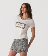 RETRO JEANS ANN T-SHIRT,WHITE