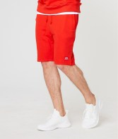 RETRO JEANS EDON SHORT JOGGING BOTTOM,RED
