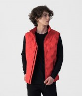 RETRO JEANS SUPERSONIC VEST,RED